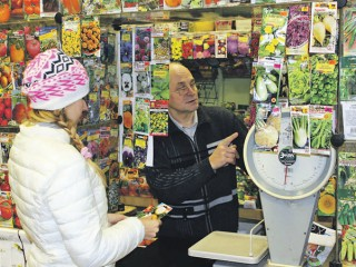 Советы продавца семян