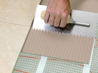 Применяем сухие смеси для укладки керамической плитки