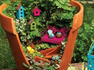 Как обустроить мини-сады и внутренние дворы
