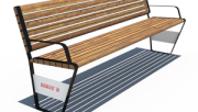 Металлические изделия для организации ландшафта и для комфортного отдыха людей