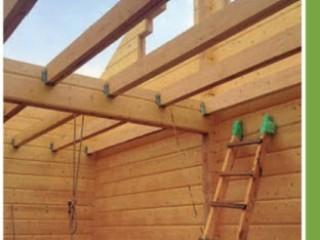 Проект деревянного дома из клееного бруса с баней