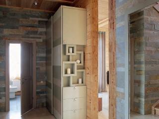 Проект деревянного двухэтажного дома из клееного бруса