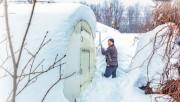 Снег и теплицы