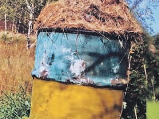 Почва медом намазана