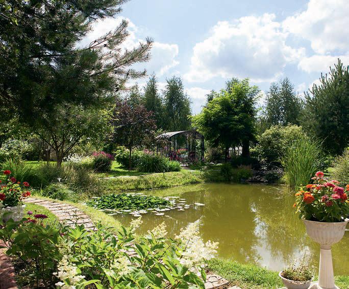 Сад в пейзажном стиле своими руками 135